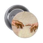 Michelangelo Creation of Adam Pin
