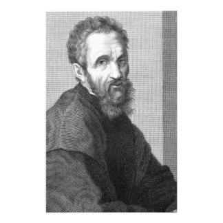 Michelangelo Customized Stationery