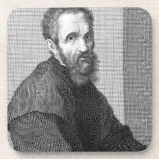 Michelangelo Drink Coaster