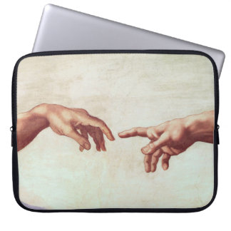 Michelangelo Hands Laptop Sleeve