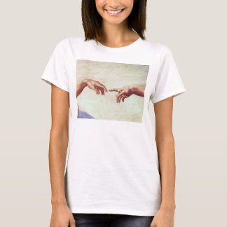 Michelangelo Hands T-Shirt