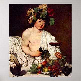 Michelangelo Merisi da Caravaggio-Bacchus Poster