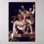 Michelangelo Merisi da Caravaggio - Entombment Print