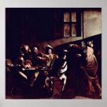 Michelangelo Merisi da Caravaggio - Saint Matthew Posters