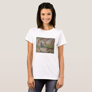 Michelangelo painting  on shirt. T-Shirt