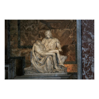Michelangelo Pieta - Vatican Poster