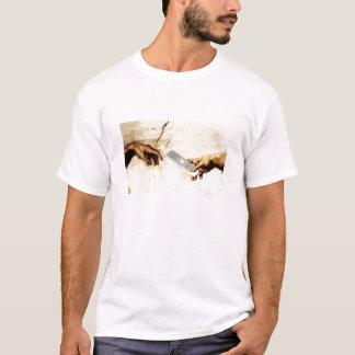 Michelangelo + Remote T-Shirt