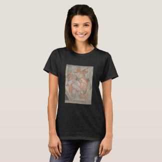 Michelangelo's 16th chapel painting on shirt. T-Shirt