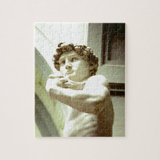 Michelangelo's David - a jigsaw puzzle