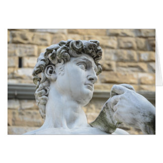 Michelangelo's David, Florence Italy Card