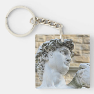 Michelangelo's David, Florence Italy Keychain