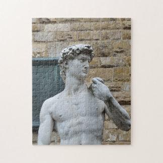 Michelangelo's David Jigsaw Puzzle