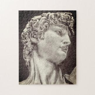 Michelangelo's David, My pencil drawing san telmo Jigsaw Puzzle