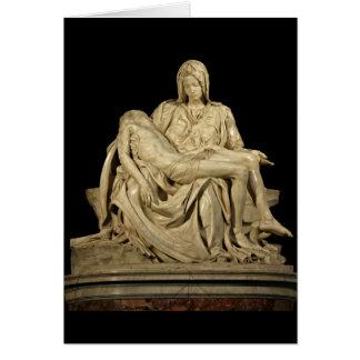 Michelangelo's Pieta Card