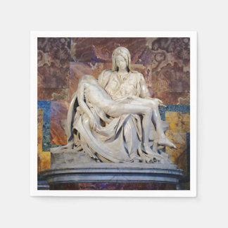 Michelangelo's Pieta Disposable Napkins