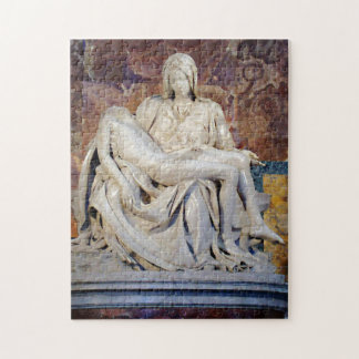 Michelangelo's Pieta Jigsaw Puzzle