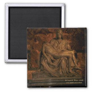 Michelangelo's Pieta Magnet