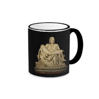 Michelangelo's Pieta Ringer Mug