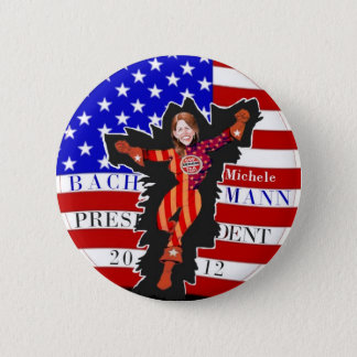 Michele Bachmann 2012 2 Inch Round Button