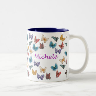 Michele Two-Tone Coffee Mug