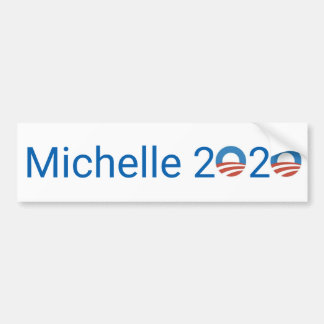 Michelle 2020 bumper sticker