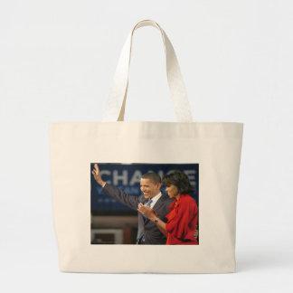 Michelle & Barack Obama Large Tote Bag