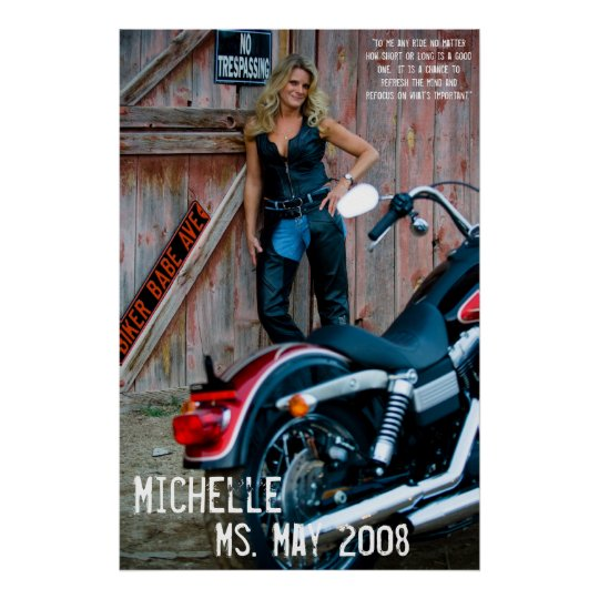 Michelle, Ms. May 2008 Poster