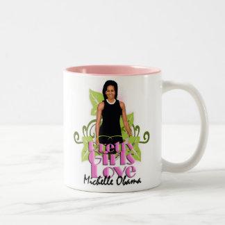 "Michelle O ""Pretty Girls Love"" Left-Hand Mug"