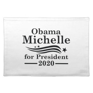 Michelle Obama 2020 Placemat