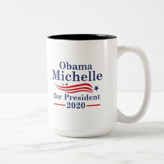 Michelle Obama 2020 Two-Tone Coffee Mug