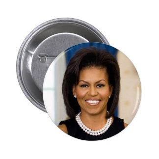 Michelle Obama 2 Inch Round Button