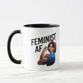 Michelle Obama - Feminist AF --  Mug