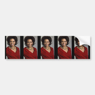 MICHELLE OBAMA FIRST LADY bumpersticker. Bumper Sticker