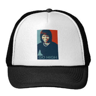 MICHELLE OBAMA - GO HIGH! TRUCKER HAT