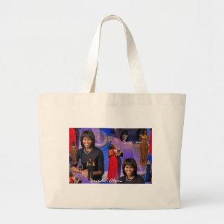 Michelle Obama Large Tote Bag