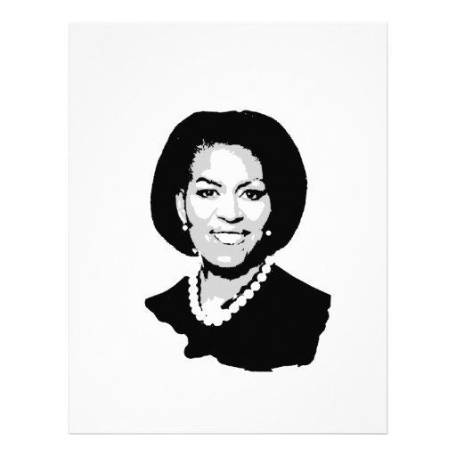 michelle obama coloring pages - how to draw michelle obama vm r
