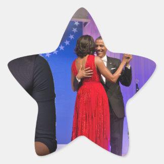 Michelle Obama Star Sticker