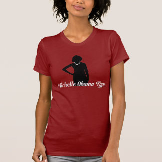 Michelle Obama Type Tee, Red T-Shirt