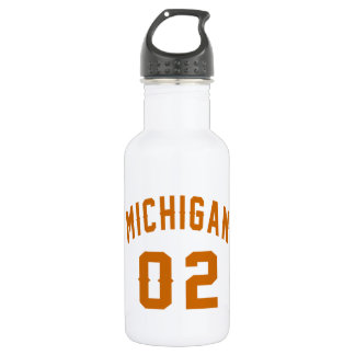 Michigan 02 Birthday Designs 532 Ml Water Bottle