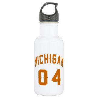Michigan 04 Birthday Designs 532 Ml Water Bottle