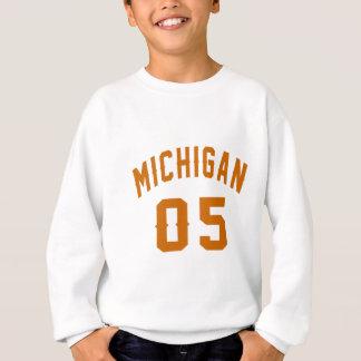 Michigan 05 Birthday Designs Sweatshirt