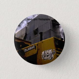 Michigan 1 Inch Round Button