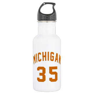 Michigan 35 Birthday Designs 532 Ml Water Bottle