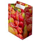 Michigan Apples Medium Gift Bag