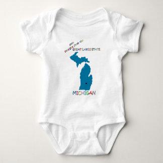 Michigan Baby Bodysuit