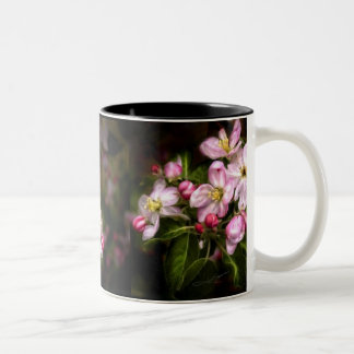 Michigan Blooms Two-Tone Coffee Mug