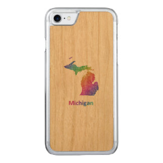 Michigan Carved iPhone 8/7 Case