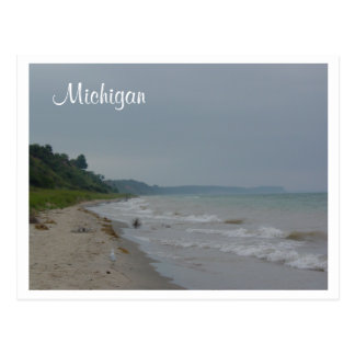Michigan Coast Postcard