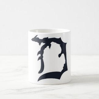 "Michigan Detroit ""D"" with Upper Peninsula Mug"