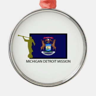 MICHIGAN DETROIT MISSION LDS CTR METAL ORNAMENT